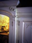 Hand crafted and hand painted custom kitchen. Bespoke details and personal style are what we do.