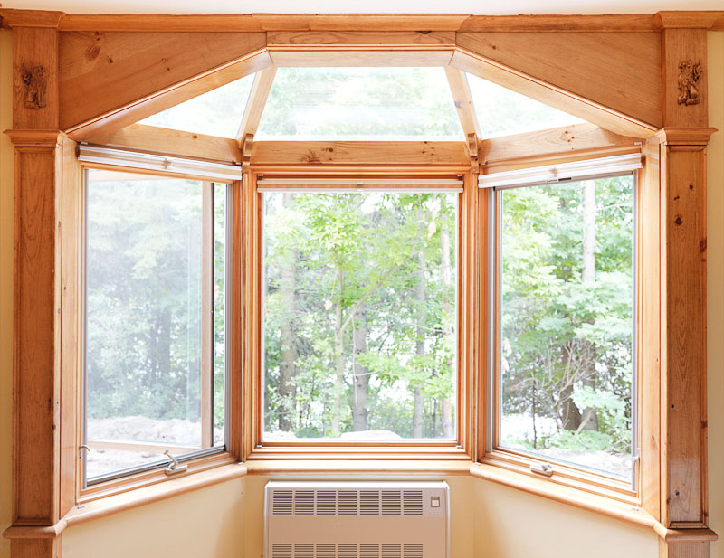 Custom solarium bay window historic building co for New construction windows for sale